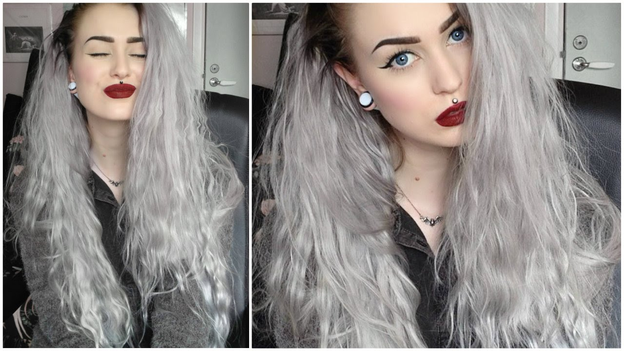 Hair Dye Grey Black Vp Fashion Extensions Youtube