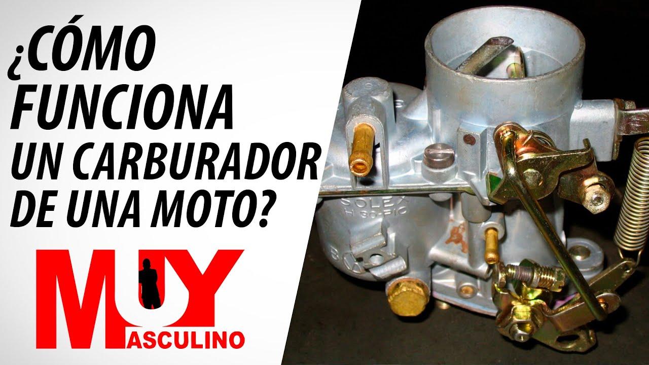 C mo funciona un carburador de una moto youtube for Como funciona una depuradora
