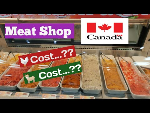 Meat Shop In Canada | Non Veg Cost In Canada |Chicken Price Mutton Price | DilseDivs Telugu Vlogs