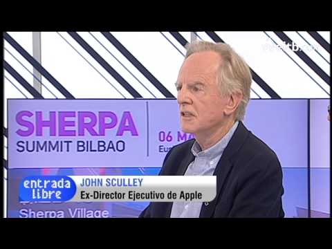 Interview with John Sculley, main lecturer of the Sherpa Summit 2014
