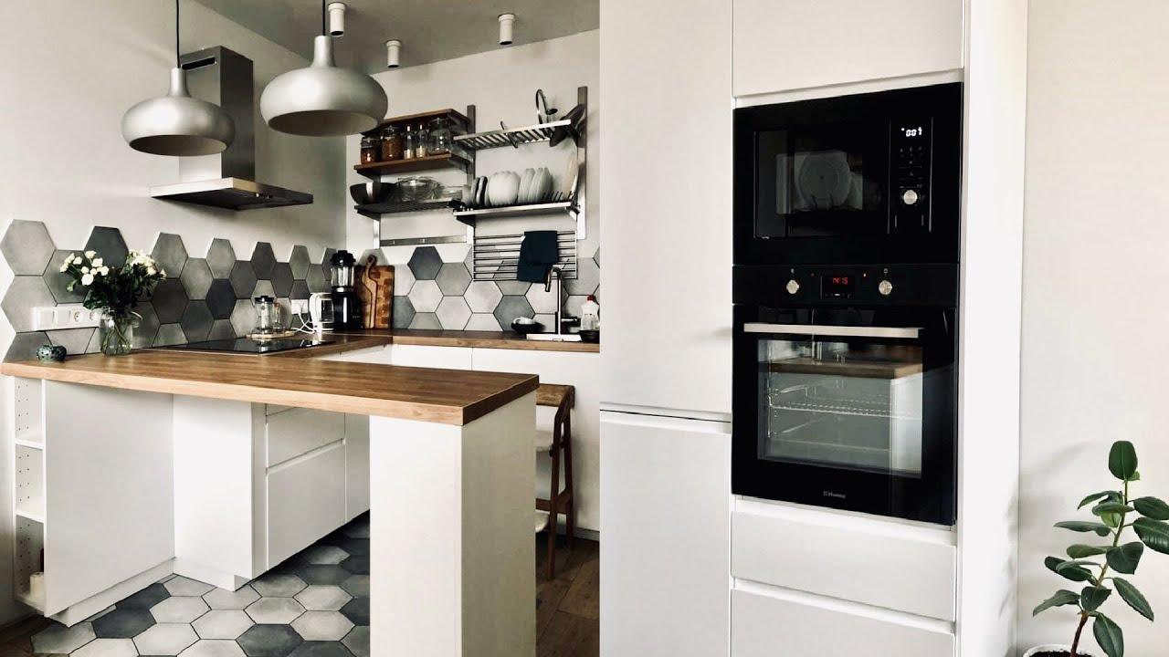 Удачный дизайн и планировка. Обзор новой кухни 14м2 рум тур