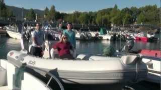 SEA RIBS 620 LUX OPEN MOTEUR YAMAHA 150 CH ESSAI WWW.TRADESLUX.COM