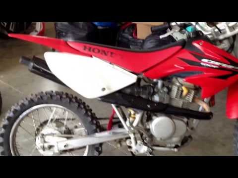 Honda CRF100 review