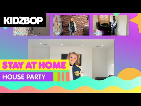 🔴KIDZ BOP Kids - Stay at Home House Party