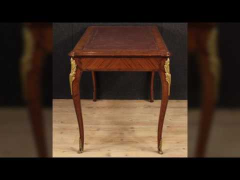 French writing desk of the mid-twentieth century. Antiques and decorative shop online