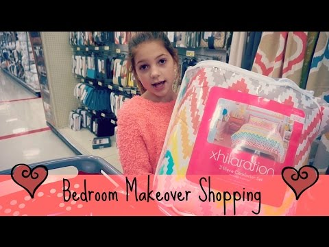 SHOPPING for my bedroom make over | Target & Marshalls