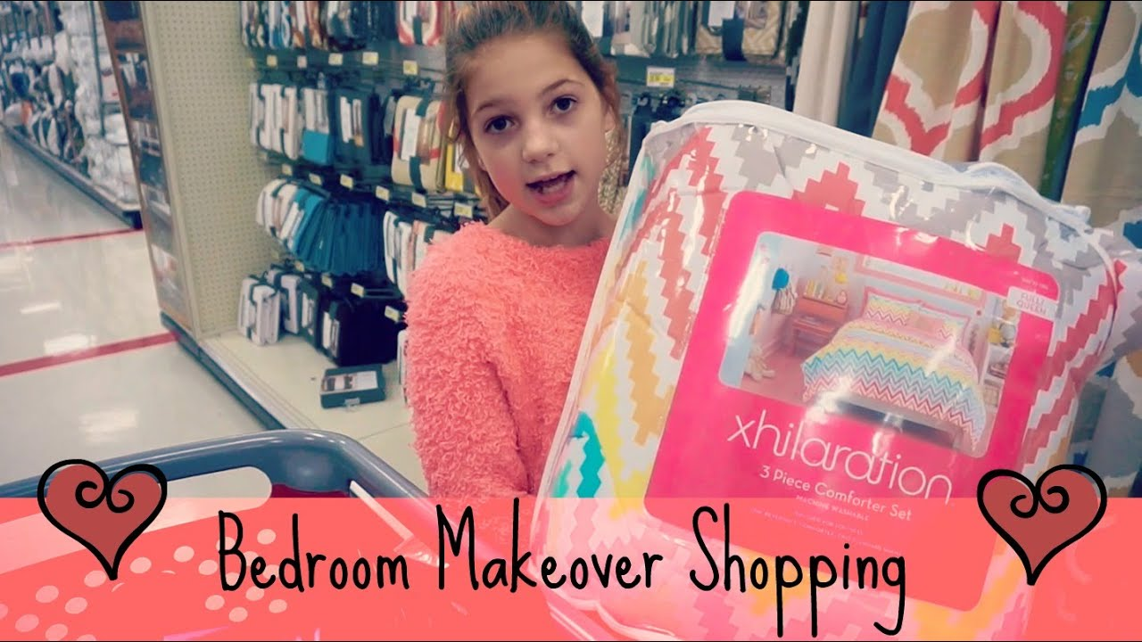 shopping for my bedroom make over | target & marshalls - youtube