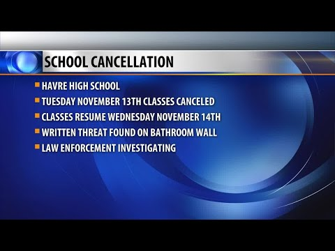 Havre High School classes canceled Tuesday due to threat