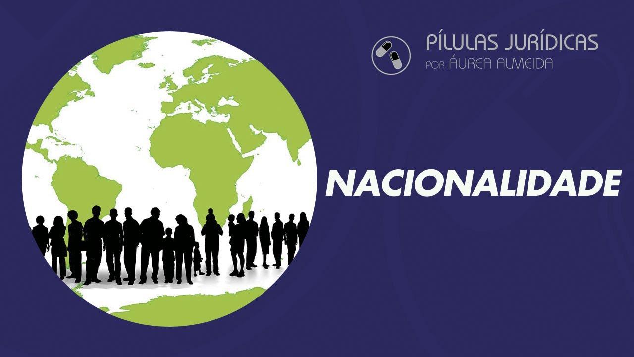 Nacionalidade brasileira - critérios para aquisição e causas da perda.