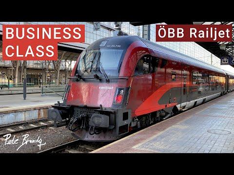 TRIP REPORT | OBB Railjet | Europe's Best Business Class | Prague to Vienna
