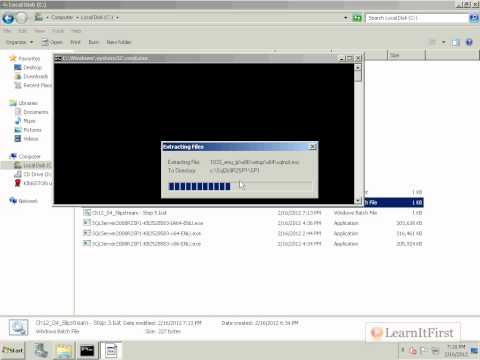 How to Create a Slipstreamed Installation Disk in SQL Server 2008 R2
