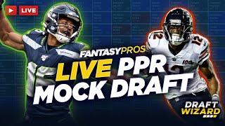 Live PPR Mock Draft   Fantasy Football Pick-by-Pick Strategy + Player Advice screenshot 2