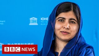 Malala Yousafzai joins campaign to get Afghan girls' back to school - BBC News
