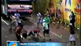 KOLE I PAN E PSIRICO - BRIGAS NA MICARETA DE FEIRA  - TV RECORD