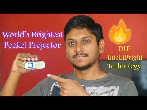 World's Brightest Pocket Projector!!