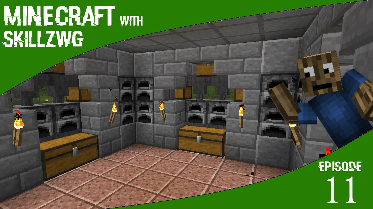 Awesome Furnace Room - Minecraft with SkillzWG :: Episode ...