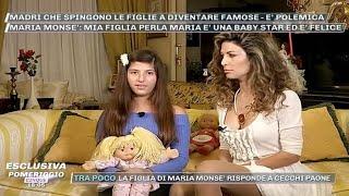 """Perla Maria, figlia di Maria Monsè/ """"Voglio fare il lavoro della mamma"""": scoppia la polemica..."""