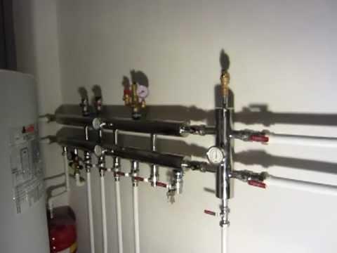 видео: Котел, гидрострелка и коллектор в одной системе