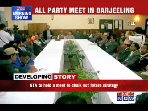 Demand for Gorkhaland: All-party meet today