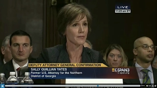 Jeff Sessions Questions Sally Yates During Deputy Attorney General Confirmation 3/24/2015