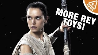 Finally More Rey STAR WARS Toys! (Nerdist News w/ Jessica Chobot)