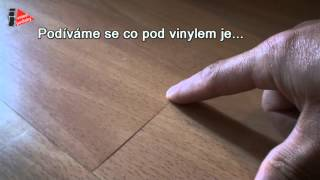 Vinylové podlahy pokládka na samolepící podložku ano, ale ...