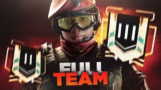 PRIMO FULL TEAM CON ALIBI - OPERATION PARA BELLUM [Rainbow six siege]