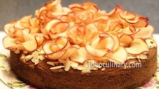 Apple Roses Cake - Easy Recipe by Video Culinary
