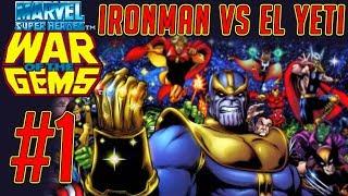 Ironman VS el Yeti - Marvel Super Heroes in War of The Gems #1 (Snes)