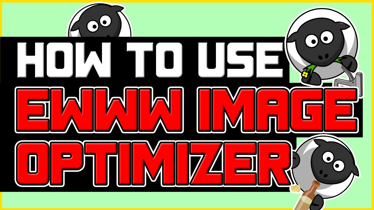 How to Use EWWW Image Optimizer for WordPress? - YouTube
