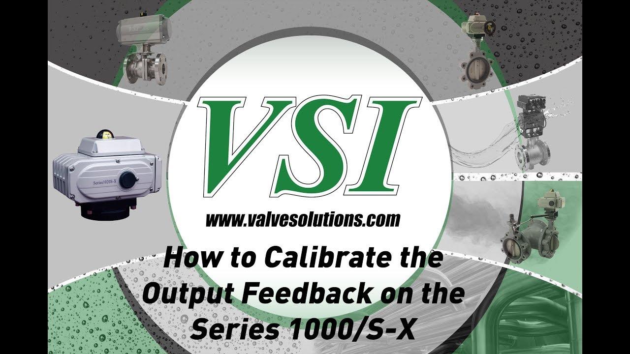 1000S X Output Feedback Calibration