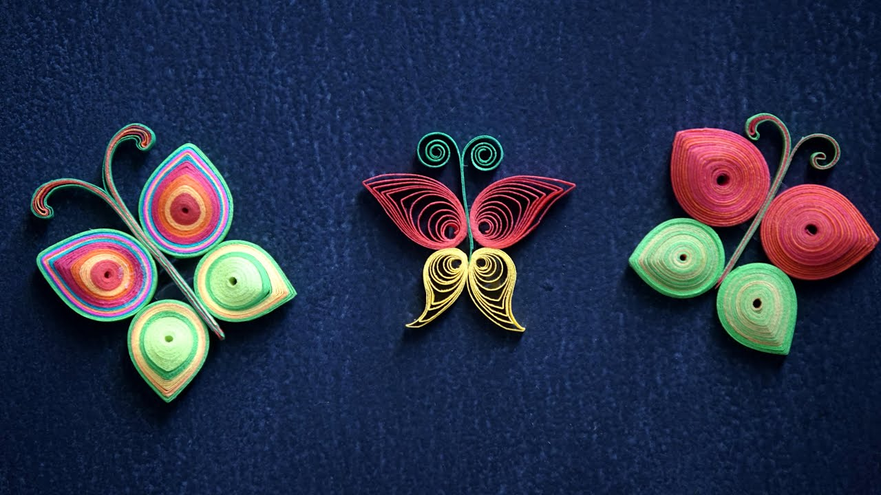 Earrings paper pdf quilling