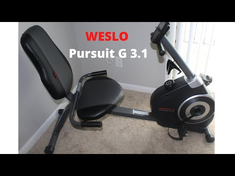 Weslo Pursuit G 3.1 | Exercise Equipment | Product Review