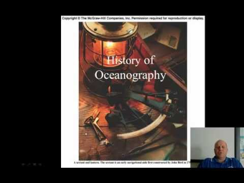 History of the Ocean explorers