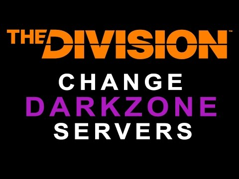 The Division how to change Dark Zone servers