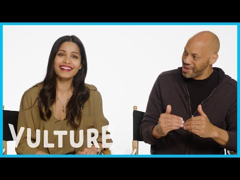 Freida Pinto Says John Ridley Has 'Ruined' Her