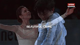 Yuzuru Hanyu and Evgenia Medvedeva | Beautiful crime