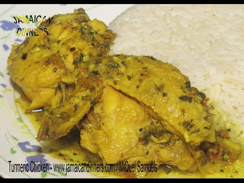 "TURMERIC CHICKEN aka CURRIED CHICKEN: ""Heal Sickness Organic Recipe"""