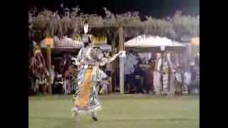 head Teen lady dancer Mikayla Seto /Boy Dancer Pala California Powwow 2013