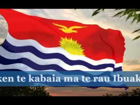 Teirake Kaini Kiribati Karaoke The anthem of Kiribati.