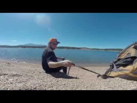 Rampart Reservoir, Colorado, America A Fishing Trip