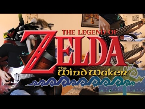 Zelda The Wind Waker goes Rock - Dragon Roost Island