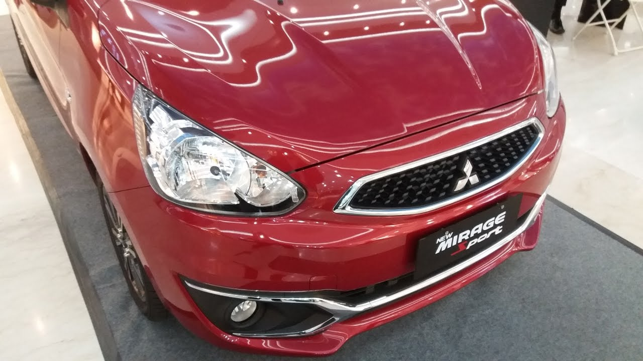 Review Mitsubishi Mirage Exceed Facelift