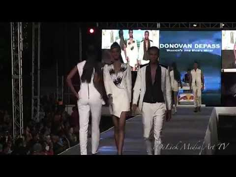 Donovan DePass at StyleWeek Jamaica 2014 - Fashion Block presented by Saint International