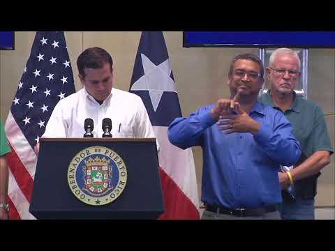 Puerto Rico: Oct 7 - VPOTUS Visit, FEMA, Gov. Rosselló y Militar Noticias en Español & English.