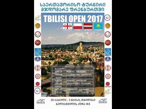 INTERNATIONAL TOURNAMENT IN SITTING VOLLEYBALL TBILISI OPEN 2017 GEORGIA - LATVIA