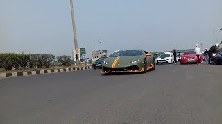 Kolkata Super Car & Superbike In Dunkuni Toll Plaza