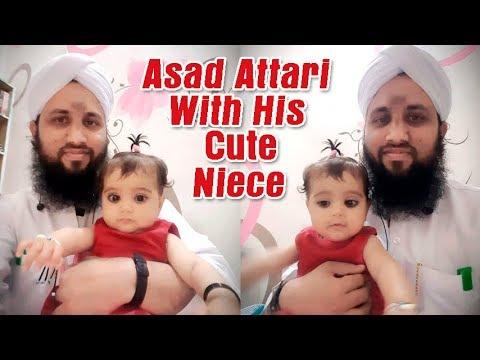 Kids Version - Asad Raza Attari With His Cute Niece (Bhatiji) Asad Attari 2018