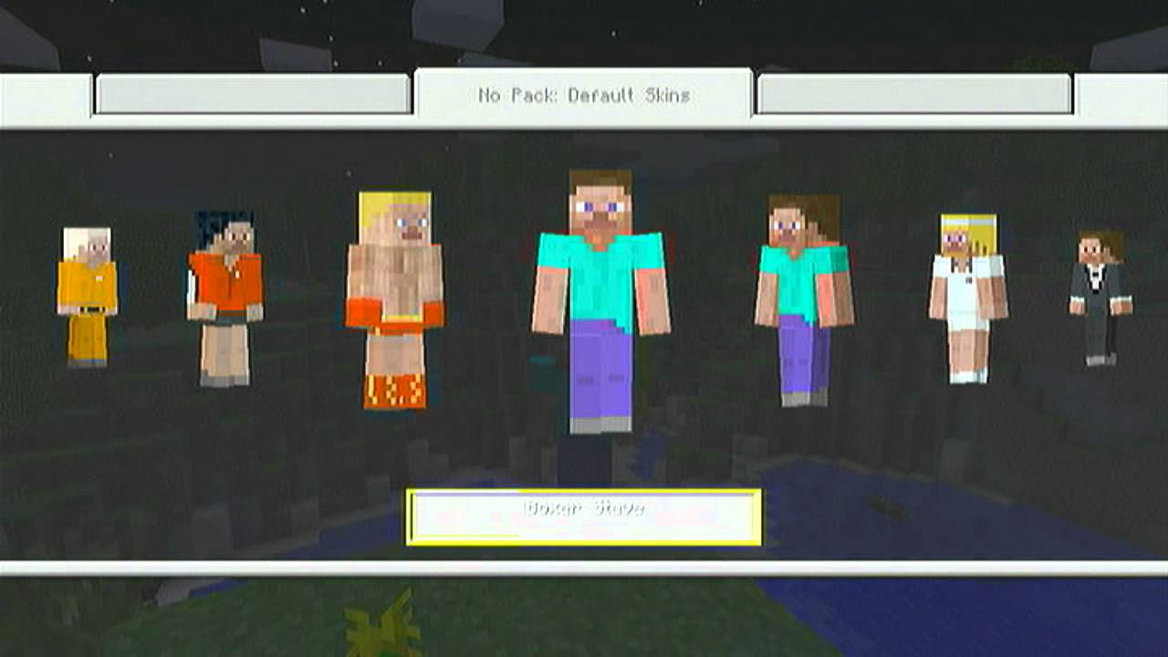 Minecraft Xbox 11/One Edition: How To Change Your Skins