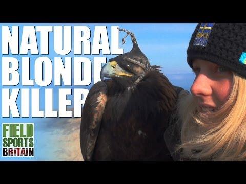 Fieldsports Britain - Swedish blonde flies eagles in Kyrgyzstan  (episode 234)